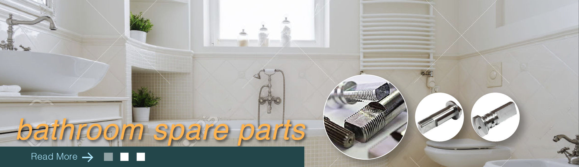 Bathroom spare parts